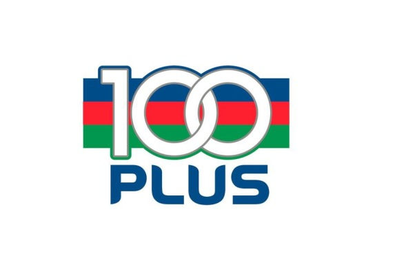 100plus logo